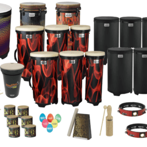 Classroom pack drums and percussion
